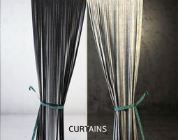 3D covering curtains