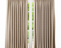 house 3D curtains