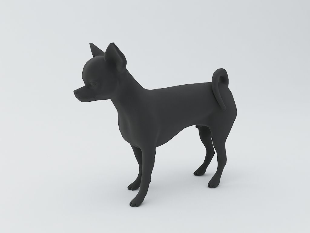 chihuahua dog 3d model 3d model 3d printable stl online interior design free online interior design services free