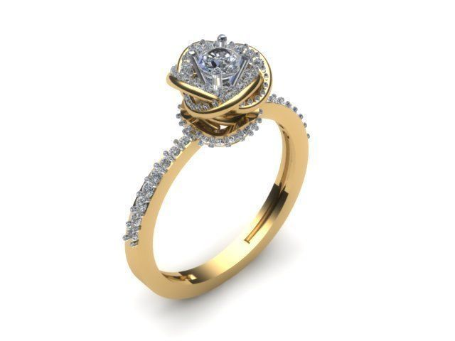 11a25e05cd0e5 Engagement Ring Special Exclusive Design | 3D Print Model