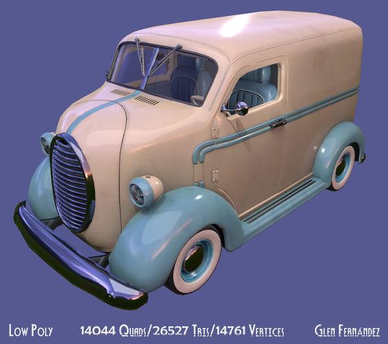 Vintage Custom COE Delivery Van