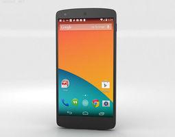 3D model Google Nexus 5