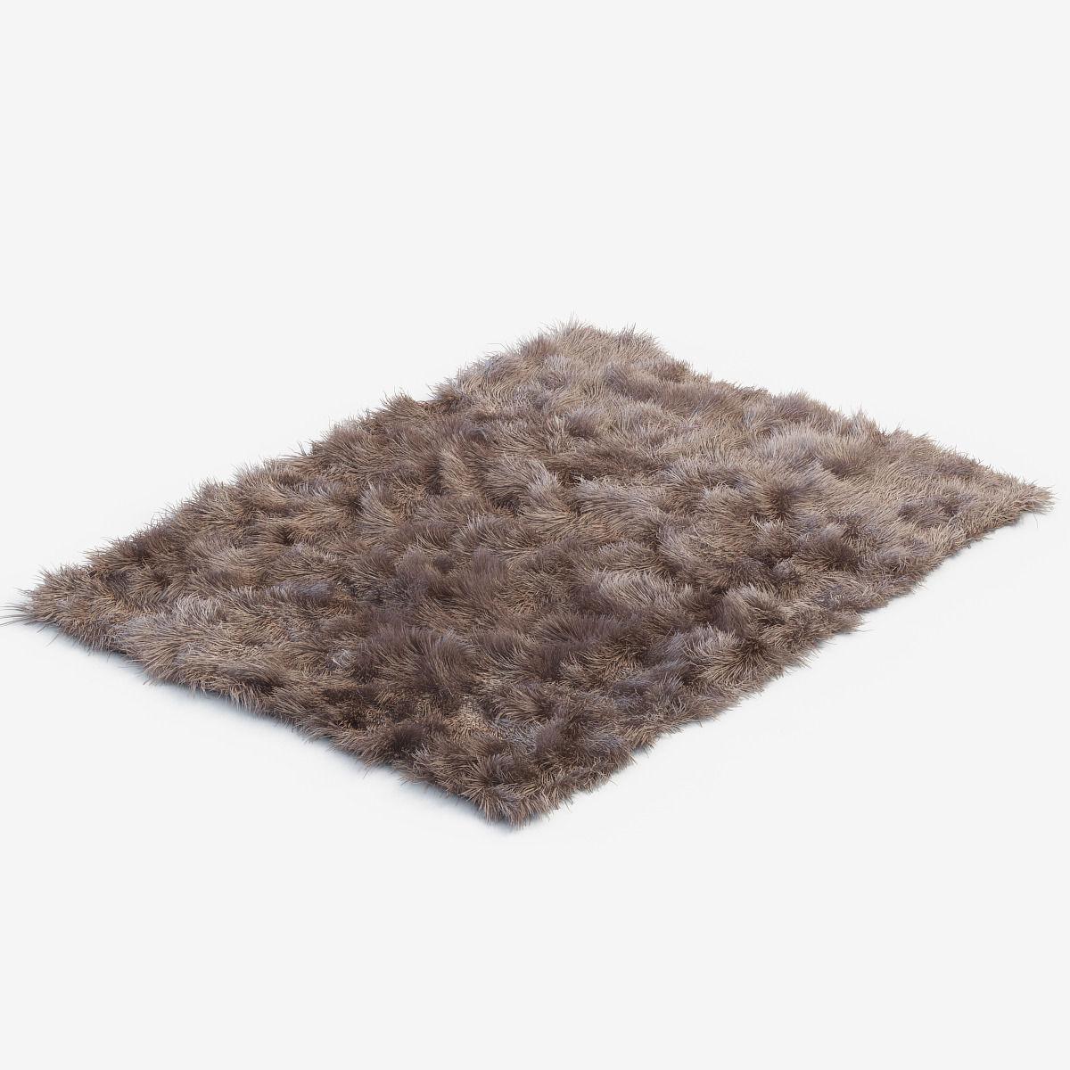 Carpets Fur 3D Model MAX