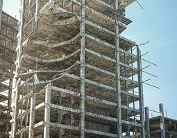 3D model Damage building