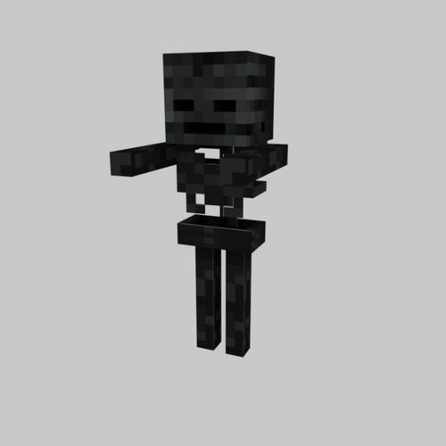 3D model MINECRAFT WITHER SKELETON | CGTrader