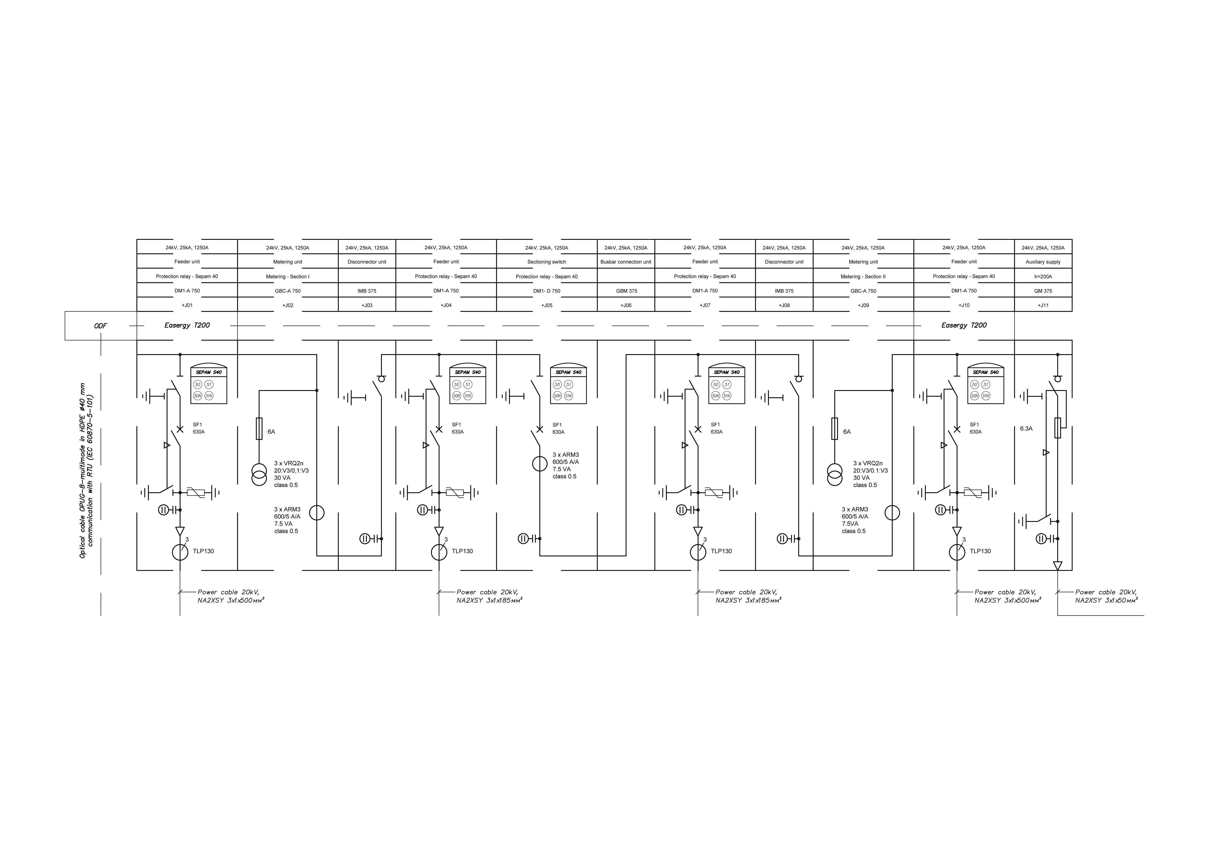 Ring Main Unit Circuit Diagram | 3d Medium Voltage Ring Main Unit 4 Cgtrader