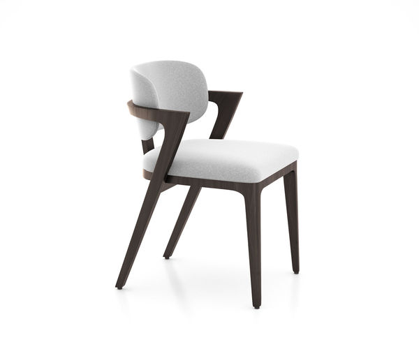 adam court upholstered dining chair by west elm 3d model max obj mtl tga 1
