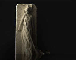 Plaster Girl 3D Printable Sculpture girl