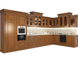 3d classic kitchen 2