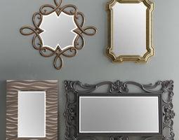 Mirror Collection Set 05 3D