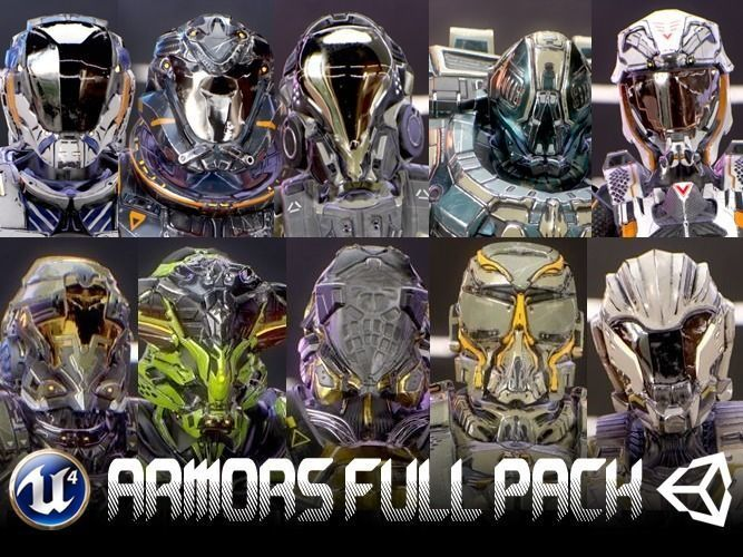 Armors Full Pack
