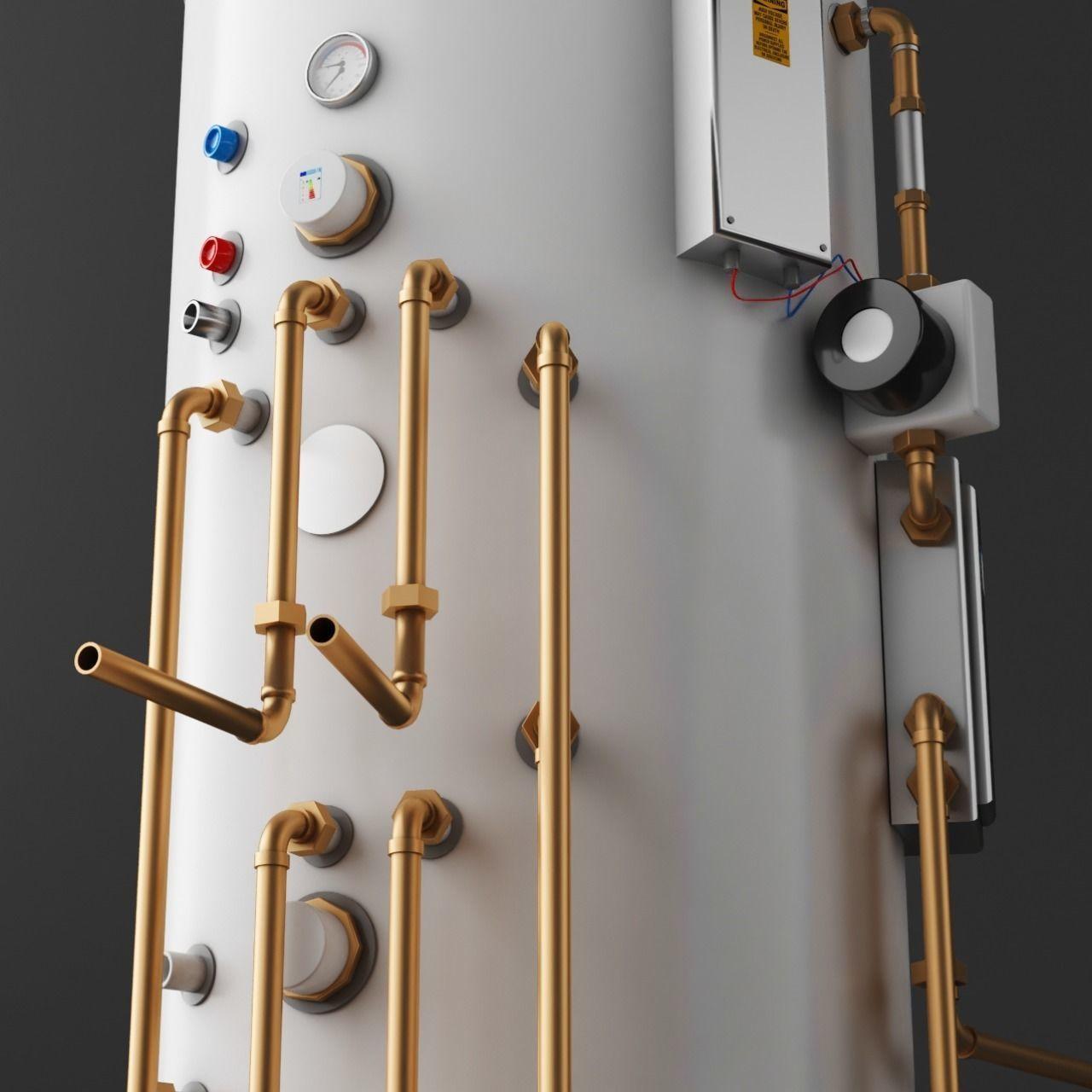3D model Domestic Boiler | CGTrader