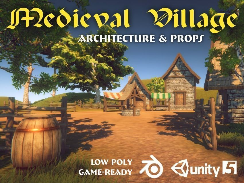 Medieval Village Pack