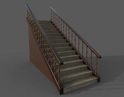 3D Stairway architecture