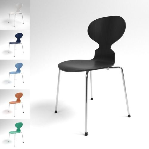 Fritz Hansen ANT Chair Blender Cycles 3D Model