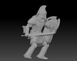 3D Warrior SkyRim VER 2