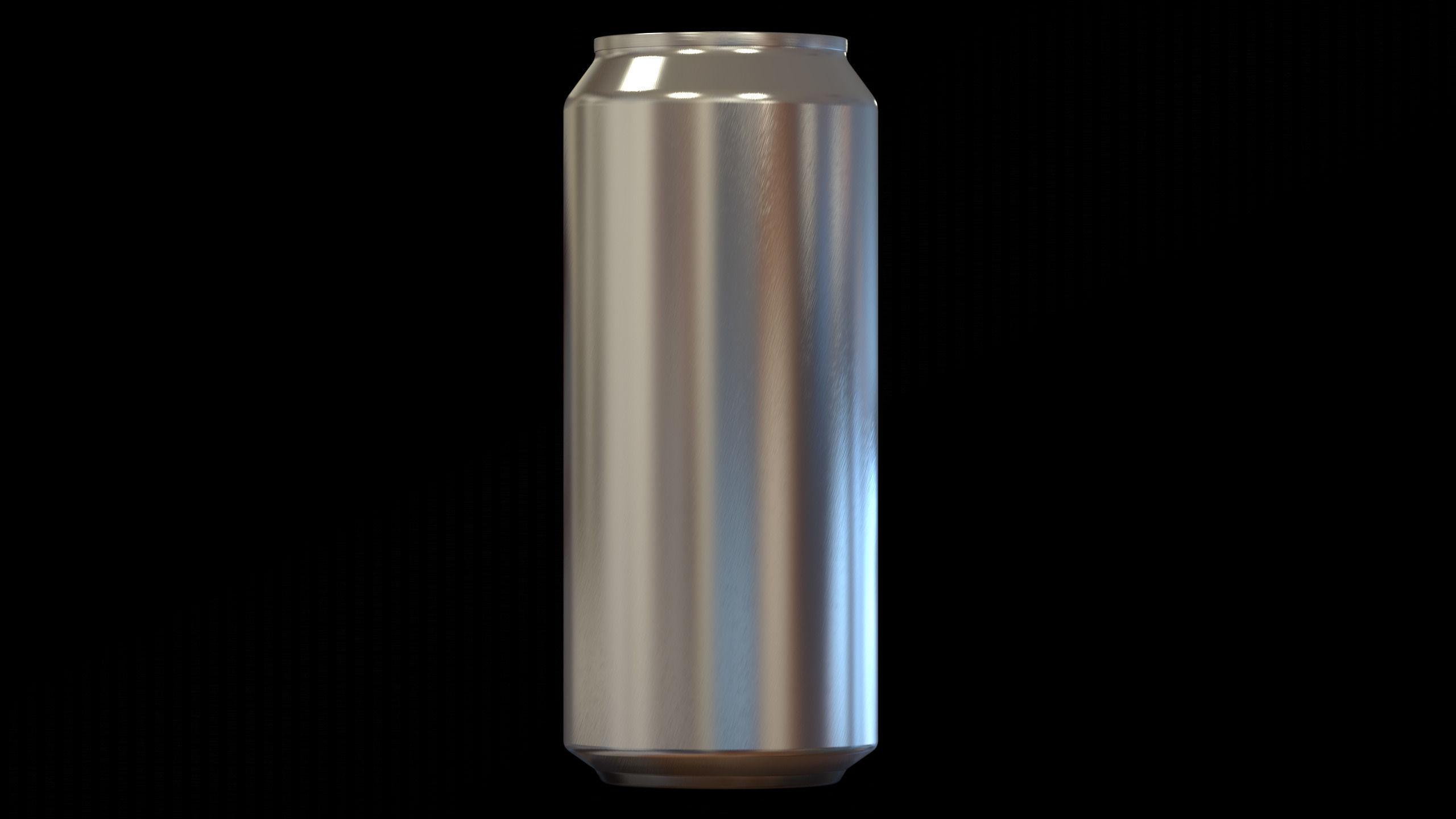 Aluminum Can High Detail 16 OZ free 3D Model SLDPRT SLDASM ...