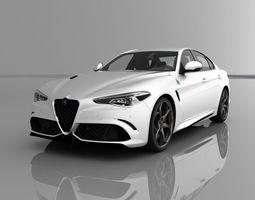 Alfa Romeo Giulia Quadrifoglio 2016 3D