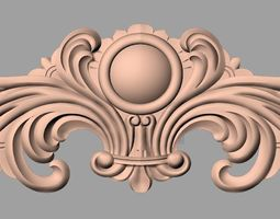 CNC 3D relief models STL format low-poly 5