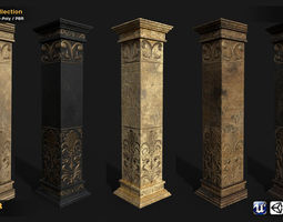 Column 5in1 Collection 3D model