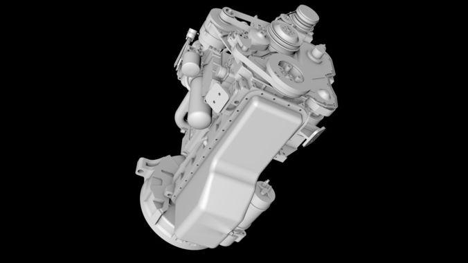 Diesel engines 3D model | CGTrader
