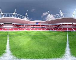 360 HDRI of Saint Petersburg Stadium - Zenit 3D model