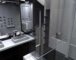 3D Interior Small Bath