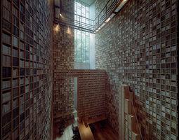 Tadao Ando - Ryotaro Shyba Museum 3D model