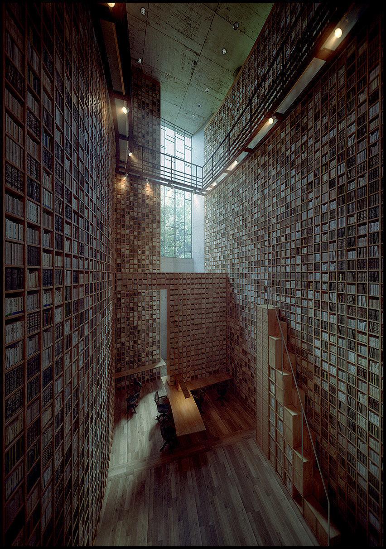 Tadao Ando - Ryotaro Shyba Museum