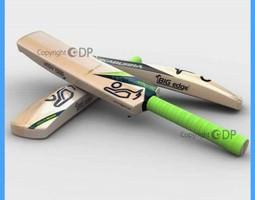 Cricket Bat 92 3D Model