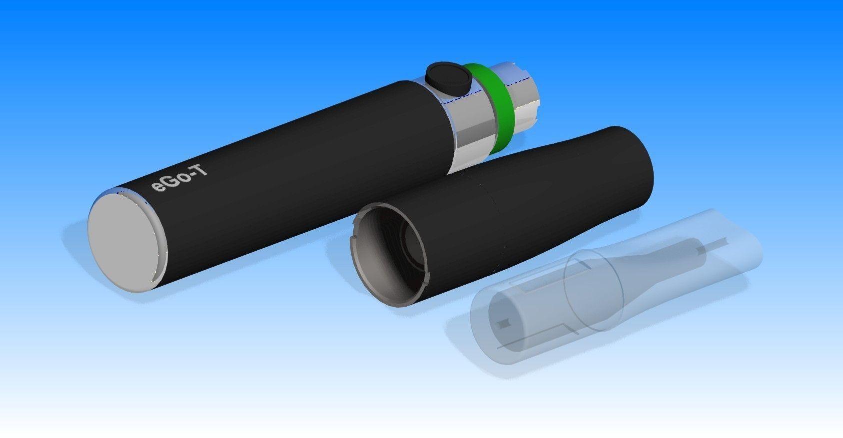 E-cigarette free 3D Model | CGTrader.com