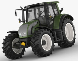3D model Valtra N142 tractor