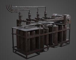 Factory Element - Gas Exchange 3D model