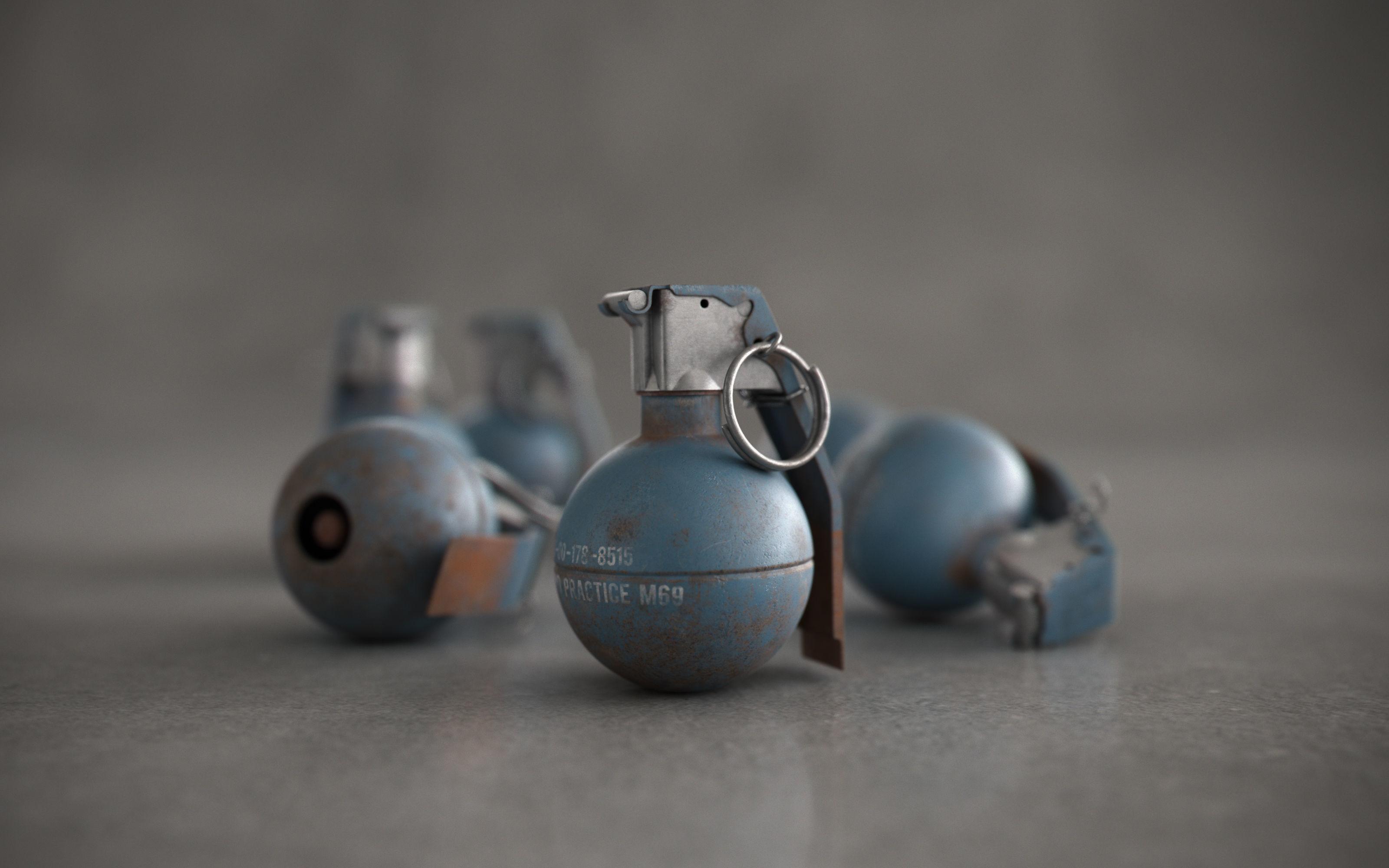 Grenade Hand Practice - M69 | 3D model