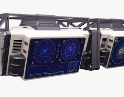 Sci Fi Displays 3D
