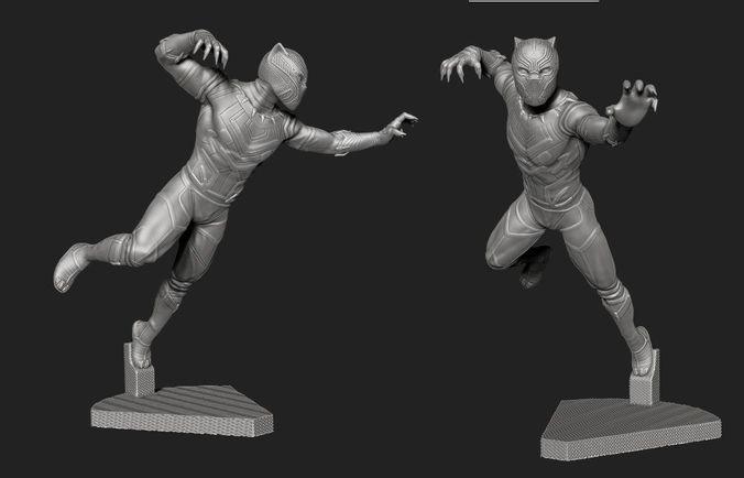Black Panther 3D Or Not – Héros Galerie d'images
