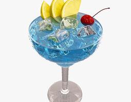Blue Margarita 3D model