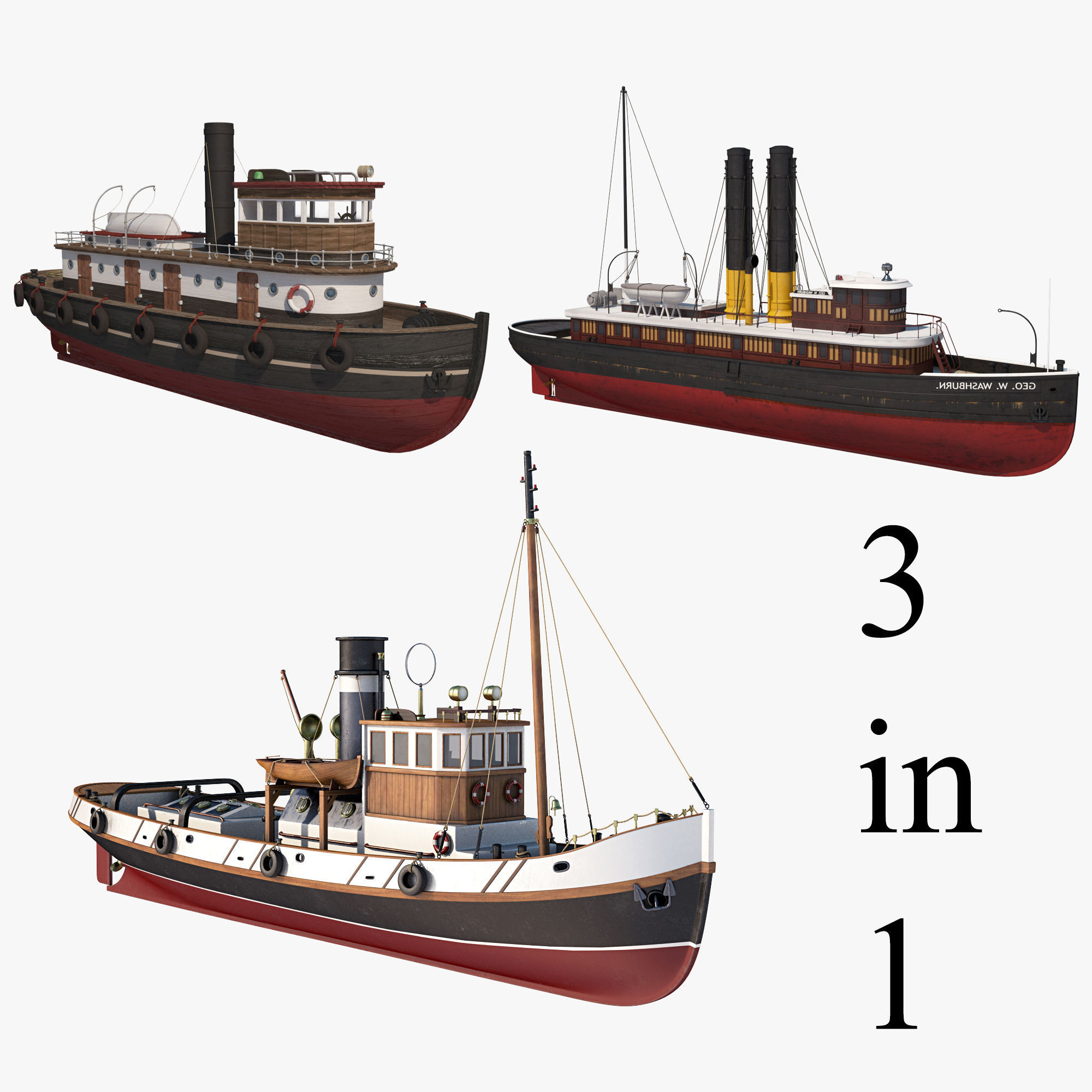 Tugboat Collection