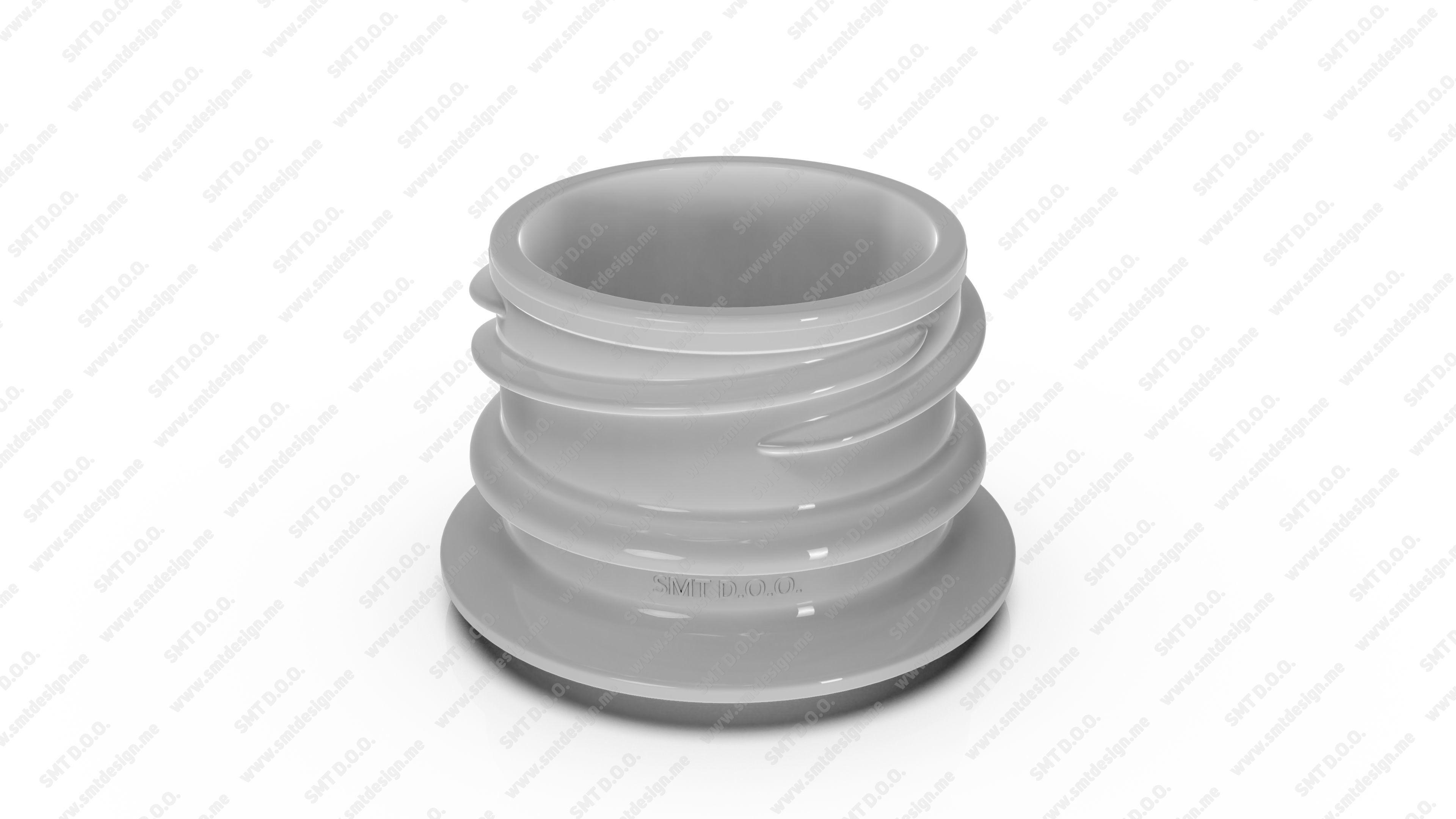 Neck for bottles - Obrist - 28 19 mm