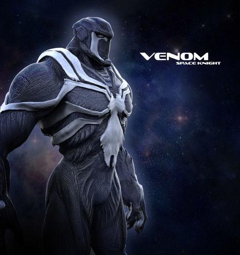 venom space knight 3d model obj mtl 1