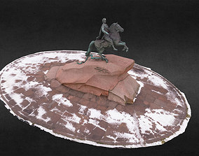 The Bronze Horseman 3D model