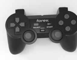 3D model Fatansy Gamepad