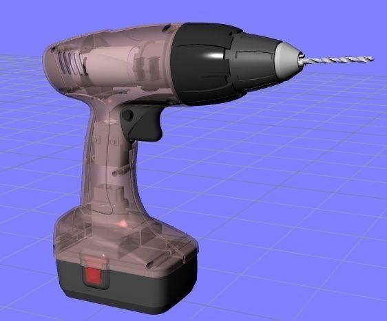 drilling machine 3d model max obj mtl 1
