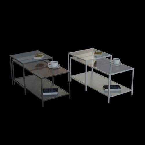 3d model ikea vittsjo nesting table cgtrader ikea vittsjo nesting table 3d model watchthetrailerfo