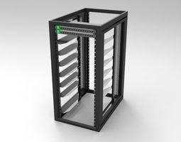 3D 26RU Systems Rack
