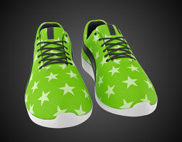 Stylized shoes 3D