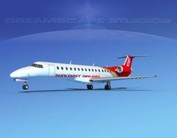 Embraer ERJ-140 Suncoast Air 3D