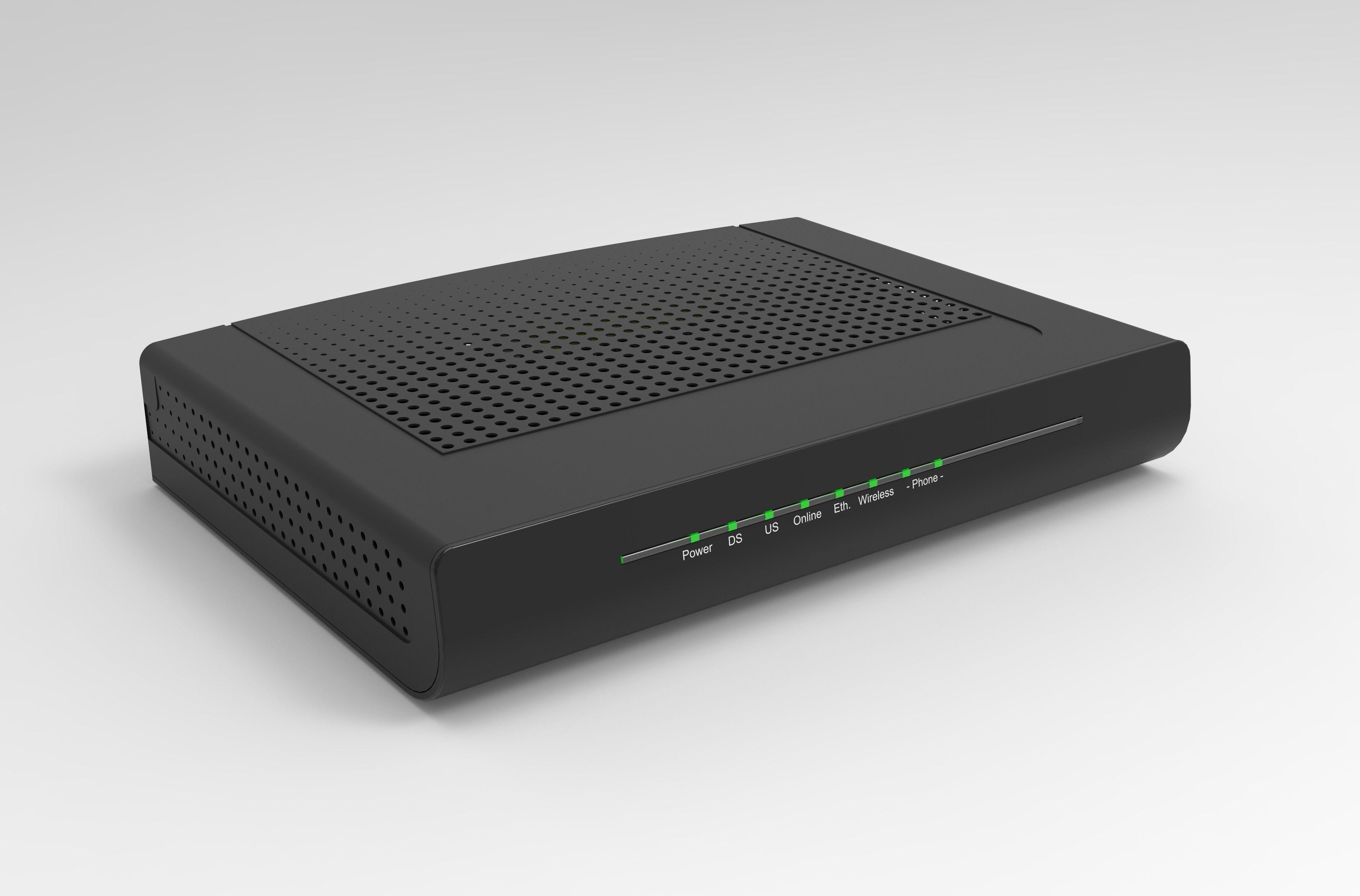Wireless Router | 3D model