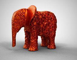 3D print model Elephant Trinket