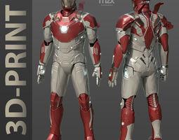 Iron Man Mark 46-47 Wearable suit 3D printable model